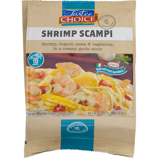 Tastee Choice Signature Meals Shrimp Scampi
