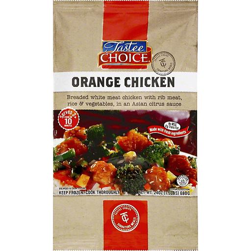 Tastee Choice Signature Meals Orange Chicken