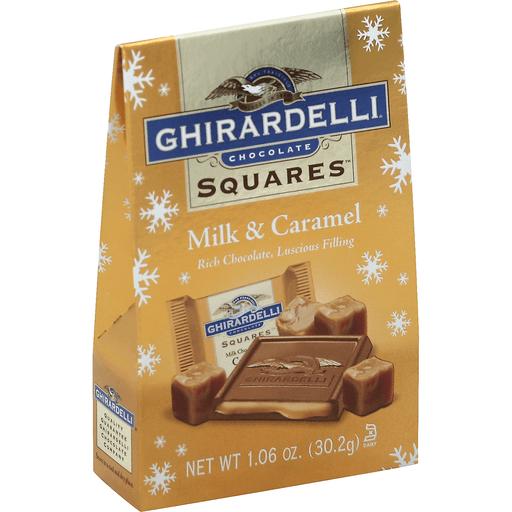 Ghirardelli Chocolate Squares, Milk