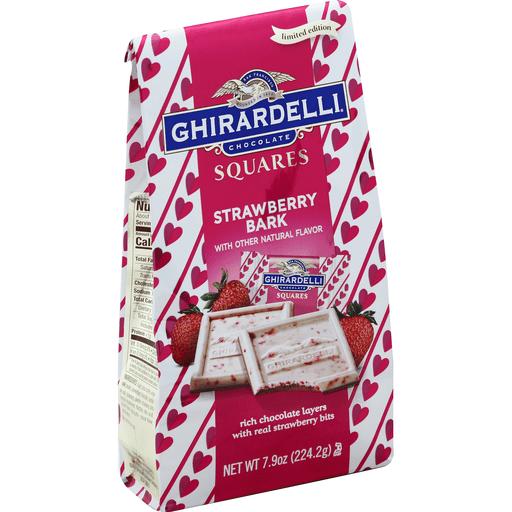 Ghirardelli Squares Strawberry Bark