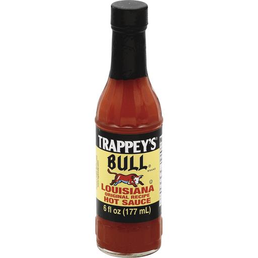 Trappeys Bull Hot Sauce Louisiana Original Recipe