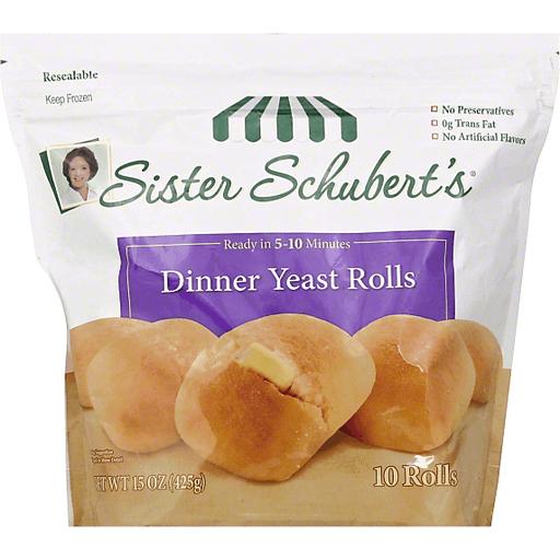 Sister Schuberts Dinner Yeast Rolls Buns Rolls Martin S