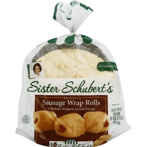 Sister Schubert S Sausage Wrap Rolls Buns Rolls Phelps Market