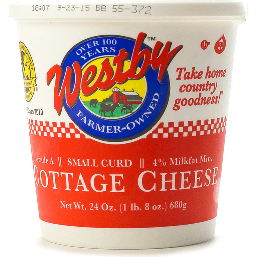 Westby 4% Small Curd Cottage Cheese