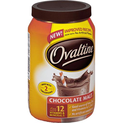 Ovaltine Drink Mix, Chocolate Malt