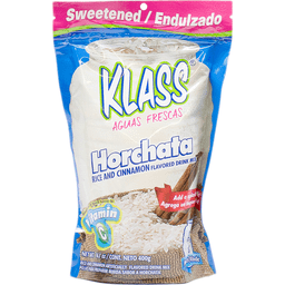 Klass Drink Mix Horchata Rice And Cinnamon Flavored Marshs