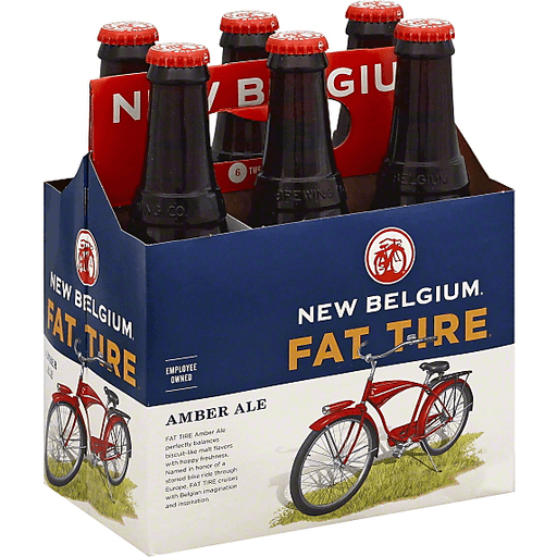 New Belgium Beer, Amber Ale, Fat Tire