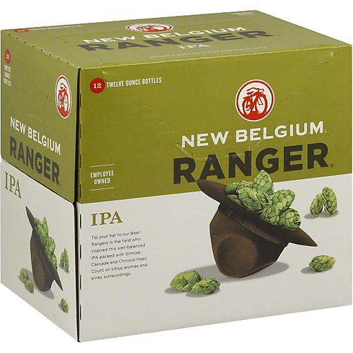 New Belgium Ale, IPA, Ranger