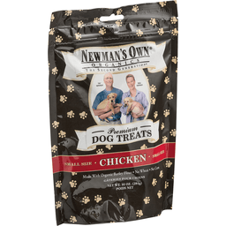 Newmans Own Organics Dog Treats, Premium, Chicken, Small Size