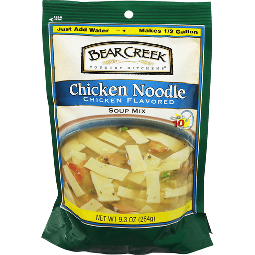 Bear Creek Country Kitchens Soup Mix, Chicken Noodle Chicken Flavored
