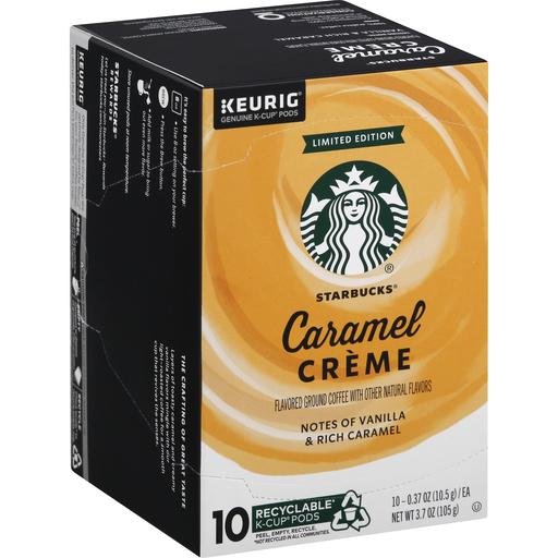 Starbucks Coffee, Ground, Caramel Creme, K-Cups Pods   Single Serve, K-Cups & Pods   Phelps Market