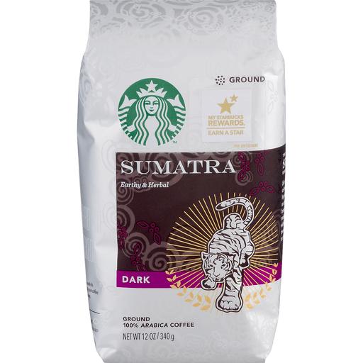 Starbucks Coffee, 100% Arabica, Ground, Dark, Sumatra