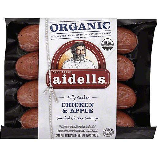 Aidells Smoked Chicken Sausage, Organic