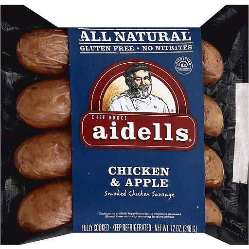 Apple Smoked Chicken Sausage