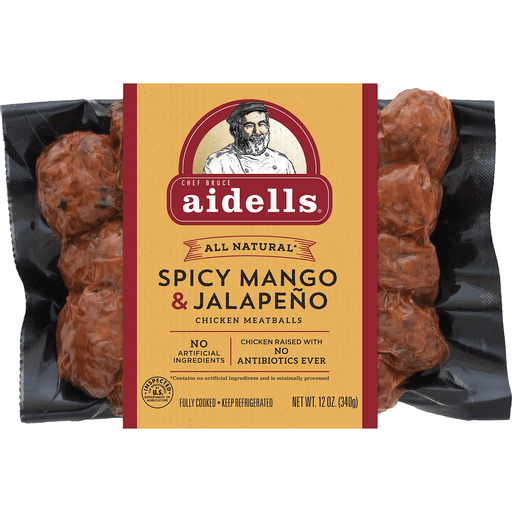 Aidells Spicy Mango&Jlpno Meatballs
