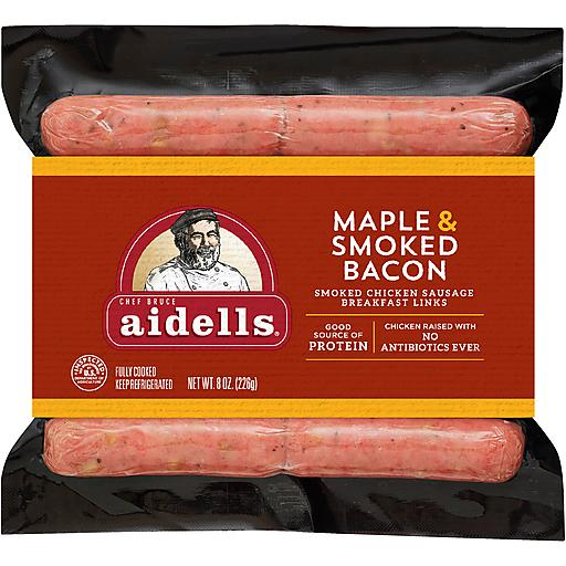 Aidells Maple Breakfast Links