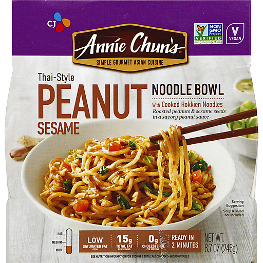 Annie Chuns Peanut Sesame Noodle Bowl