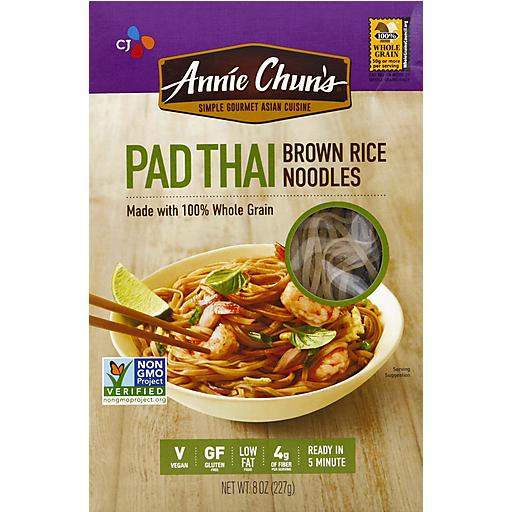 Annie Chuns Brown Rice Pad Thai Noodles