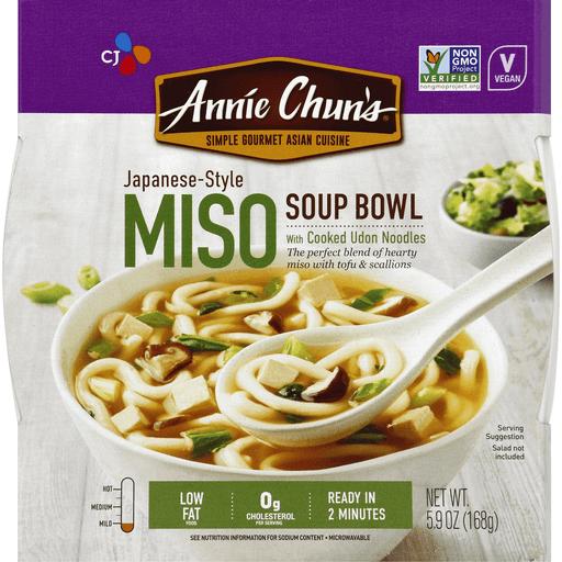 Annie Chun Miso Soup Bowl