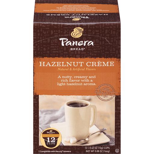 Panera Bread Coffee, Ground, Hazelnut Creme, Single-Serve Cups