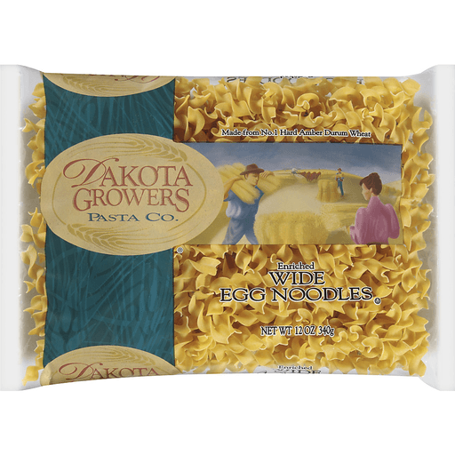 Dakota Growers Pasta Co.® Wide Egg Noodles 12 oz. Bag