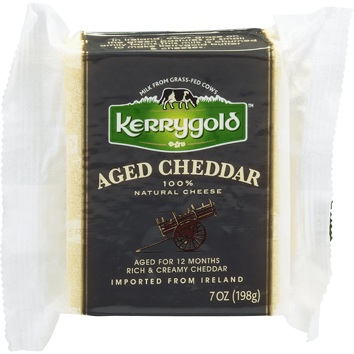 Kerrygold Cheese, 100% Natural, Aged Cheddar