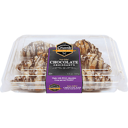 Chocolate Croissants 6 Count | Brooklyn Harvest - Halletts Point