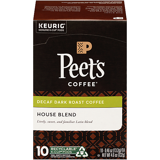 Peet's House Decaf K Cup