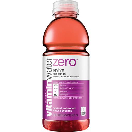 vitaminwater zero sugar revive Bottle, 20 fl oz
