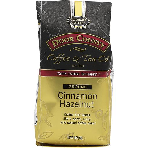 Door County Cinnamon Hazelnut Ground Coffee