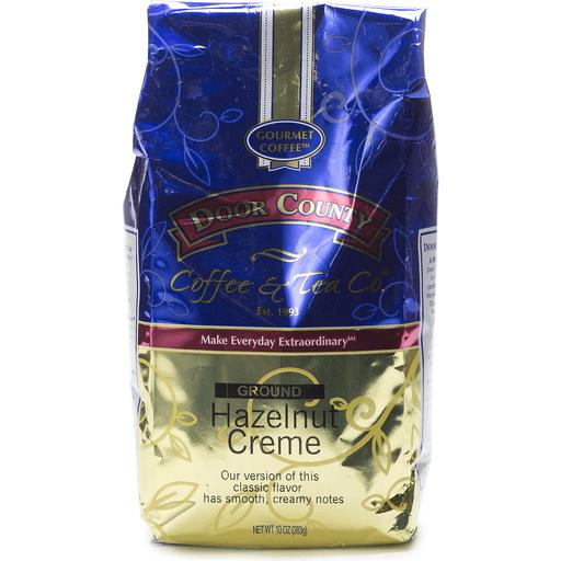 Door County Hazelnut Creme Ground Coffee