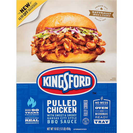 Kingsford™ Pulled Chicken 16 oz. Pack