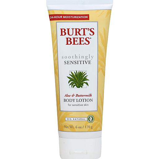 Burtsbees Body Lotion - Aloe & Buttermilk