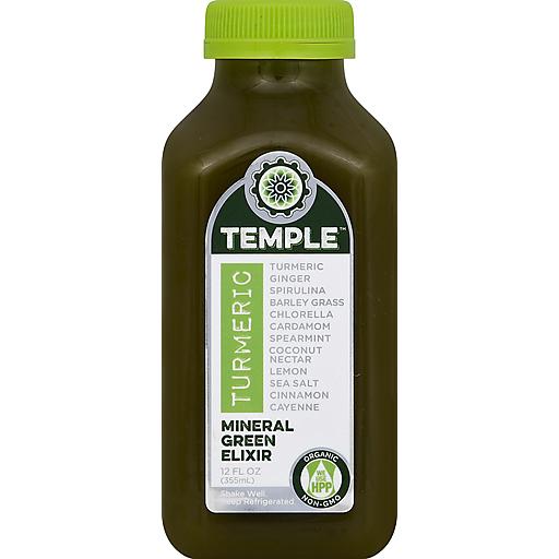 Temple Turmeric Elixir, Mineral Green