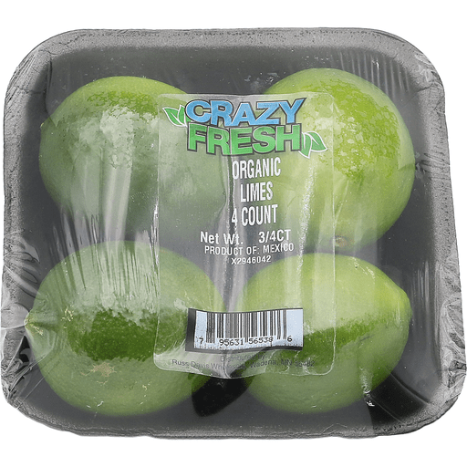 Organic Wrapped Limes