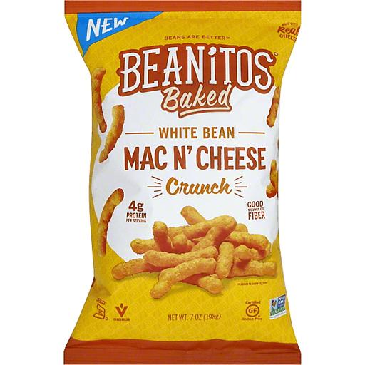 Beanitos Baked Mac N'Cheese, White Bean Crunch