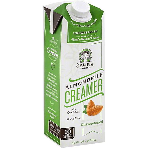 Califia Farms Almondmilk Creamer With Coconut Unsweetened