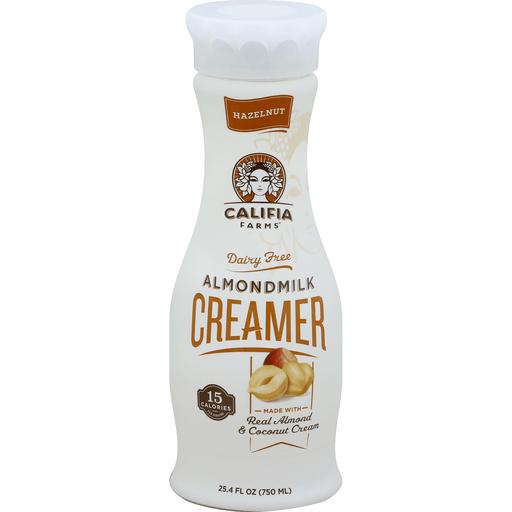 Califia Farms Creamer, Almondmilk, Hazelnut