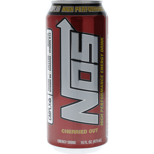 Nos Energy Drink, High Performance, Cherried Out