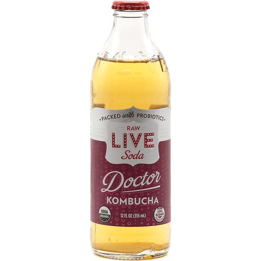LIVE Kombucha Raw & Organic Pure Doctor