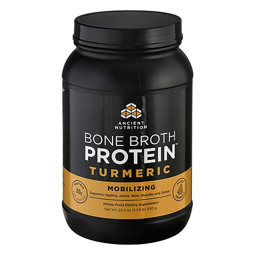 Ancient Nutritn Turmeric Bone Brth Protein-40 Servng