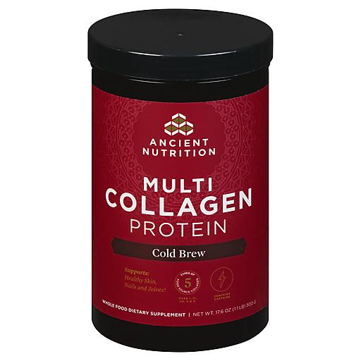 Ancient Nutritn Multi-Collagen Protn-Cold Brew