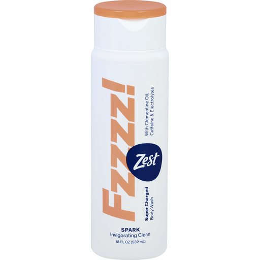Zest Body Wash Super Charged Spark Fzzzz Bar Soap Body Wash Priceless Foods