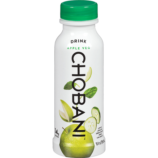 Chobani Yogurt Drink, Greek, Low-Fat, Apple Cucumber