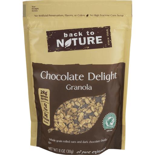 Back to Nature Granola, Gluten-Free, Chocolate Delight