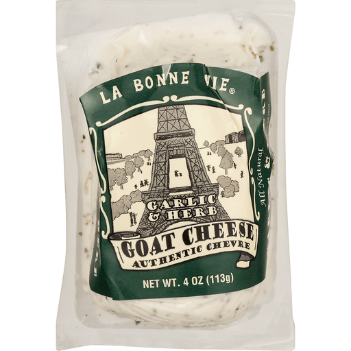 La Bonne Vie Cheese, Goat, Garlic & Herb