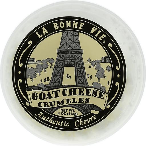 La Bonne Vie Cheese Crumbles, Goat