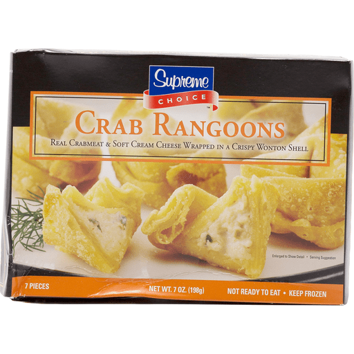 Supreme Crab Rangoon