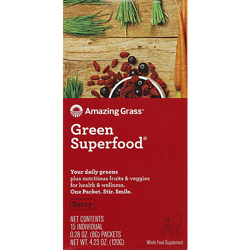Amazing Grass Berry Gsf - Packets