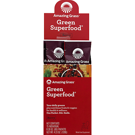 Amazing Grass Berry Gsf - Single Serving